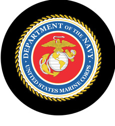 Jeep Spare Tire Cover - U S Navy And Marine Corp. Seal For Jeep Rvand039s Etc.