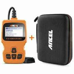 Ancel Ad310 Orange Classic Enhanced Universal Obd Ii Scanner Car Engine...