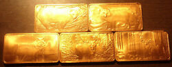 100 Ounces Of .999 Fine Copper American Wildlife Series Free Shipping From Ohio
