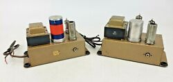 Pair Of Vintage Pickering 230h Preamplifier Mono Phono Turntable Tube Preamp