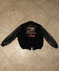 Vintage Young Mc Stone Cold Rhymin Tour Varsity Jacket Extremely Rare