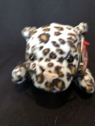 1996 Ty Beanie Baby Freckles Plush Cheetah Excellent Conditions New