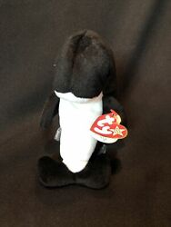 Very Rare 1996 Waves Beanie Baby With Echo Tags And Pvc Pellets