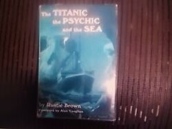 Rare 1st Edition Book Signed By Titanic Survivor Saved In Lifeboat13 4/15/1912
