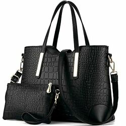 Satchel Purses and Handbags for Women Shoulder Tote Bags Wallets 1 black $37.01