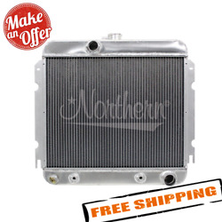 Northern 205198 Downflow Muscle Car Radiator For A-body Mopar W/ 318/340 Engines