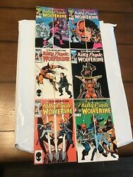 Lot Of 6 Marvel Comics Kitty Pryde And Wolverine 1-6 Full Run Limited Series