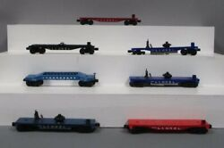 Lionel Vintage Pw Flatcars And Freight Chassis 6544, 3419, 6819, 6424, 6808 [7]