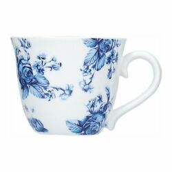 A Set Of Cups For Espresso Porcelain Blue Set Of Cups And Cups Of Coffee Cups...