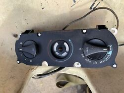 87-89 Ford Mustang Ac Heater Control Panel Fan Vent Switch Factory Oem