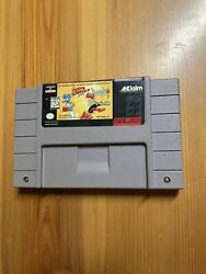 The Itchy And Scratchy Game Super Nintendo Snes Authentic Simpsons Game Rare