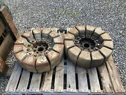 Pie Section Tractor Wheel Weights