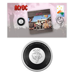 Australia 2021 Ac/dc Dirty Deeds Done Dirt Cheap Stamp And 20c Coin Cover - Pnc