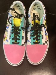 Old Skool Disney Mickey Mouse Mens Sz 10 No Tags But Never Worn