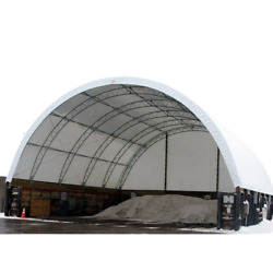 40x40x15 Heavy Snow Shelter Cover Roof Conex Box Overseas Shipping Container Kit
