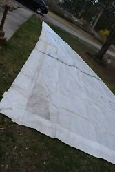 Very Large Neil Pryde International Sail 39.5 Ft X 35.5 Ft And 16ft Bottom Jib