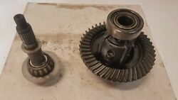 Ring And Pinion Set Gm Front Dana 44 4.10 / 4.11 Carrier Open Front Axle