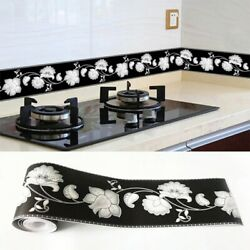Pvc Self-adhesive Waterproof 3d Wall Sticker Border Removable Sticker Home Decor