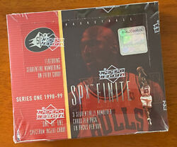 1998-99 Series One Basketball Upper Deck Spx Finite Factory Sealed