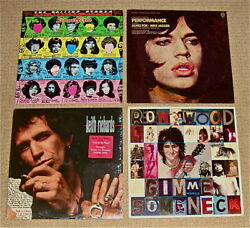 Rolling Stones Together And Apartsome Girls/performance/talk's Cheap/gimme Neck