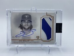 2020 Topps Dynasty Bo Bichette Rookie Patch Auto Rpa /10 On Card Auto Rc Dap-bb2
