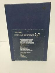 1967 New Scofield Reference Bible Kjv With Box Oxford 09176x