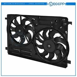 Electric Radiator Condenser Cooling Fan Assembly For 2015-2016 Lincoln Mkc