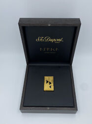 S.t. Dupont Africa Line 2 Limited Edition Lighter With Box