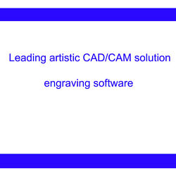 Type3 Cad/cam Engraving Software, 2d/3d Version For Industrial And Artistic