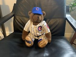 Cooperstown Bears Chicago Cubs Teddy Bear 208 Out Of 2500 Ltd Collectible