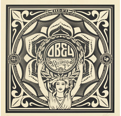 Shepard Fairey Obey Records 50 Shades Black Poster Art Print Obey Giant