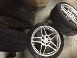 Ac Schnitzer Type Iii Rims E39 Fitment All Season Tires Complete Set Of 4