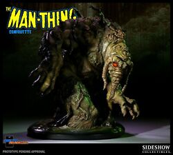 Marvel Sideshow 1/4 Man-thing Comiquette Figure Statue Very Rare Only 300 Made