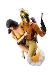 Mondo Art Rocketeer And Betty 14 Diorama Statue By Dave Stevens Exclusive Sealed