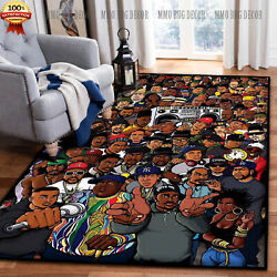 Rug For Living Room - Rappers Hip Hop Area Rug Nice Gift Home Decorfloor Decor