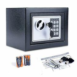Fireproof Home Digital Security Safe Box Wall With Lock For Jewellery Money V...