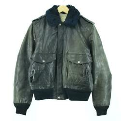 Shot Schott G-1leather Flight Jacket Made In Usa 40 Menand039s Eaa059897 Secon _13516