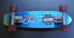Authentic And Vintage 70's Val Surf / Dewey Weber Skateboard Complete