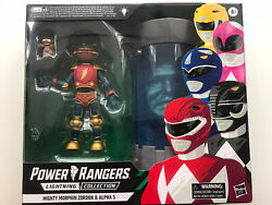 Power Rangers Lightning Collection Mighty Morphin Alpha 5 And Zordon New