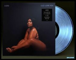 Lizzo Cuz I Love You Lp On Clear Vinyl New Sealed Color Vinyl Official Exclusive