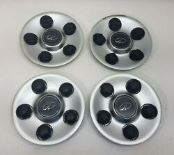 00-02 Olds Intrigue 16 Wheel Painted Center Hub Caps Set Of 4 9593499 5