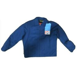 Vintage 1970and039s Pepsi Factory Jacket Cintas Employee Uniform Size 44r With Liner
