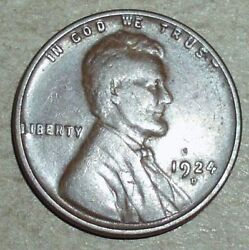 1924 D Lincoln Wheat Back Cent / Penny C