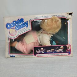 Vintage Tyco Oopsie Daisy Baby Doll - Damaged - Stains - For Parts Or Display