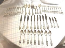 Wallace Grande Baroque Sterling Flatware Set- Beautifully Done