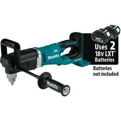 Makita Cordless Right Angle Drill 1/2 18 Volt X2 Lxt Lithium Ion 36v Tool Only