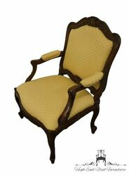 Sherrill Furniture French Provincial Upholstered Accent Arm Chair