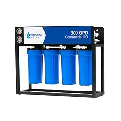 300 Gpd - 5 Stage Commercial Ro Reverse Osmosis Water Filtration System