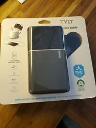 Tylt Block Party Charging Station And Bluetooth Speaker Sv0053