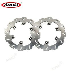 Fit For Yamaha Rd Lc 350 1985 - 1993 1992 1991 Fixed Front Brake Discs Rotors